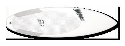 Dynocore™ epoxy WD shortboard