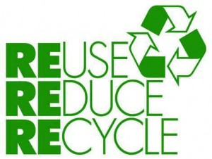 re-use, re-cycle, re-tire happy