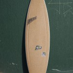 amorim cork deck on a dynocore surfboard
