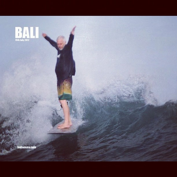 #logtime @diversesurf now its Homeward bound from a quick #surftrip on #baliwaves