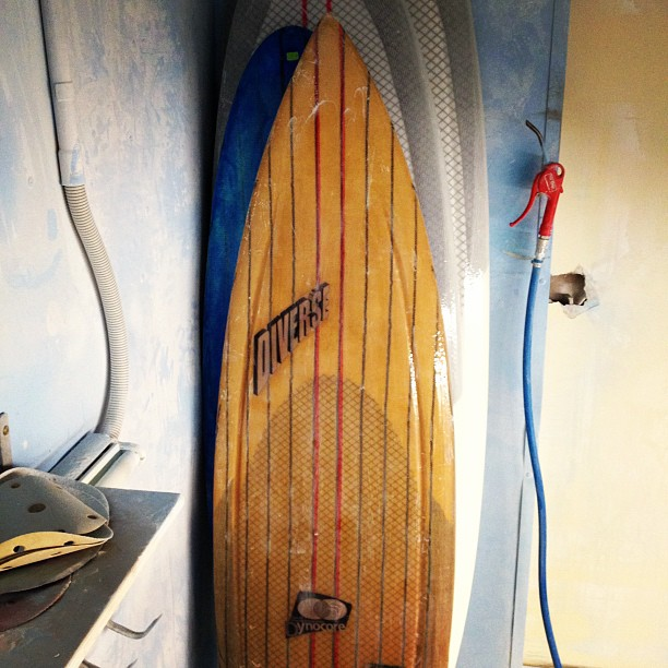 Mad #customsurfboards built by #dynocore @diversesurf for yuta Ishikawa