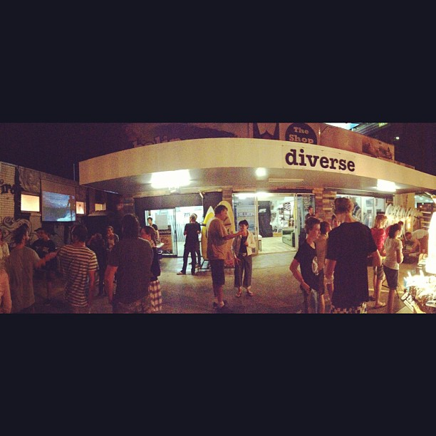 It's all happening @diversesurf tonight