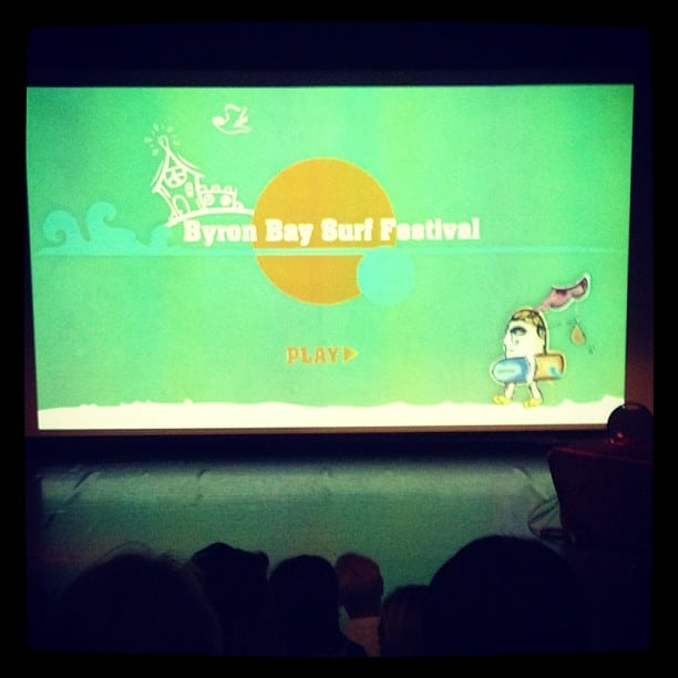 Byron bay surf film festival with @diversesurf
