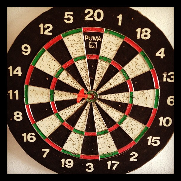 Yep it's #discount #darts day today 20th oct 2012 only.... #oneshot = your discount on new or custom board @diversesurf