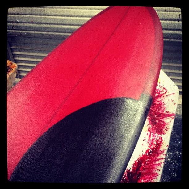 #redblood for #countsurfer @diversesurf #modernvintage