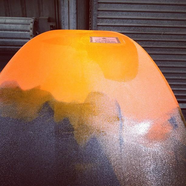 #orange #resinfade #modernvintage @diversesurf