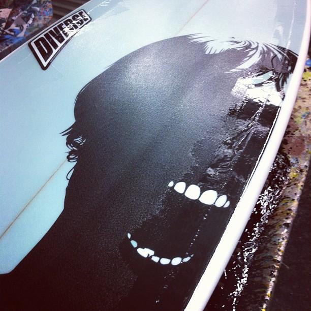 #eyescream #youdream #customsurfboards #customart @diversesurf