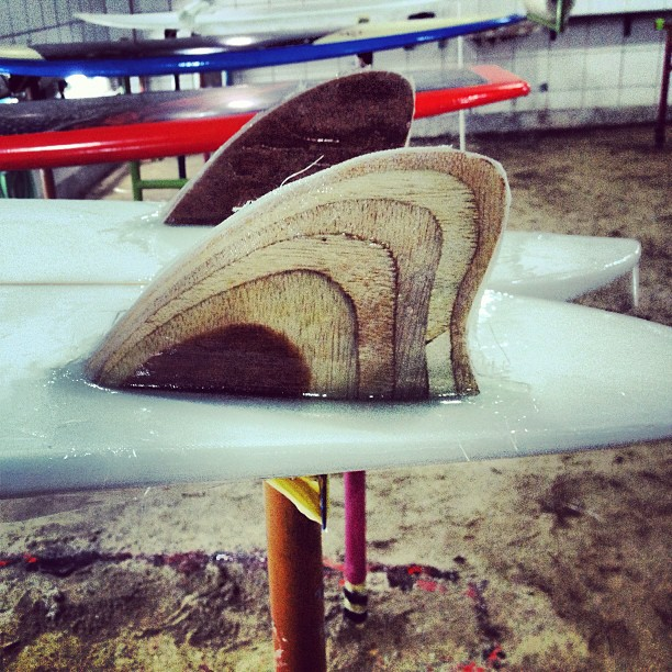 #woodenfin #twinkeel #plywood #retro