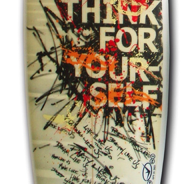 #pushtoplay #thinkforyourself #different #surfboards make surfing fun