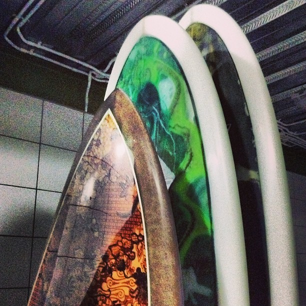 #outthedoor #resinart #batik #polished #classic #surfboards