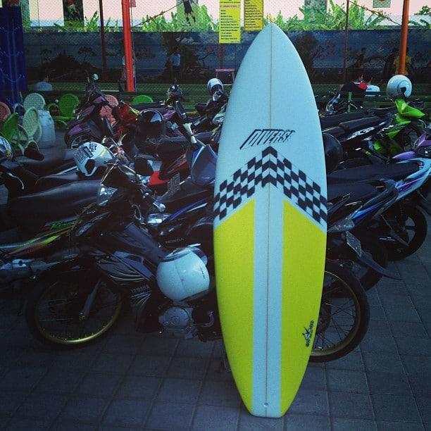 #balibagus #pecalung #eightys #surfboard #thruster