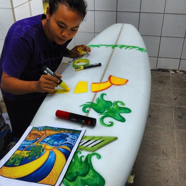 #girlsmakingsurfboards #posca #art @diversesurf
