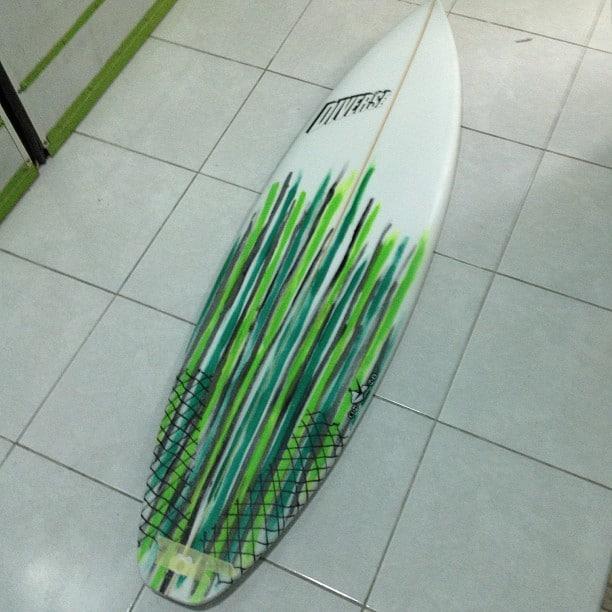 #green #envy #balibagus #surftrip #customsurfboard