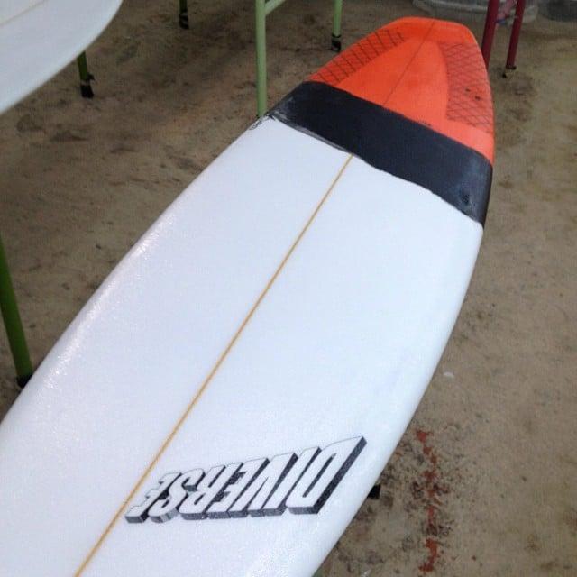 #lure #custom #shortboard #resincolors