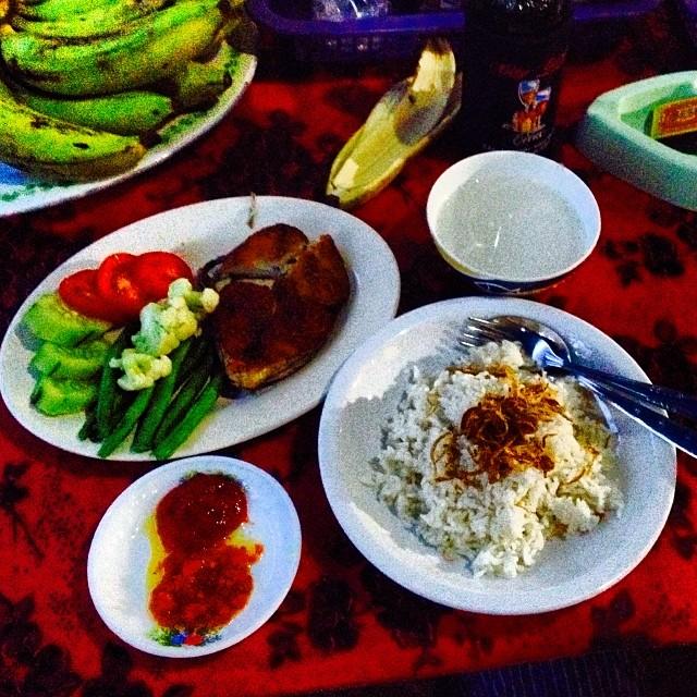 #healthydinner #freshfish #bintang #chilli #vegetables #balimadebaligood