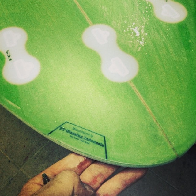 #dusttrails #sanding #fcs #fusion #tail #hardedge #ptindoglassing