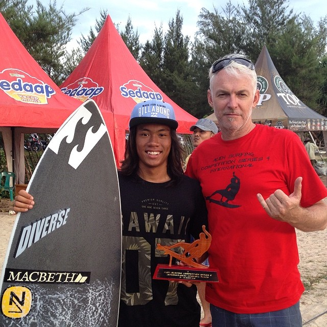 #aceh #surfing #competition #international #series4 #3rdplace #diverse #team #tech #didaqt