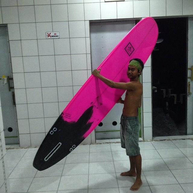 #pink #longboard #ptindoglass