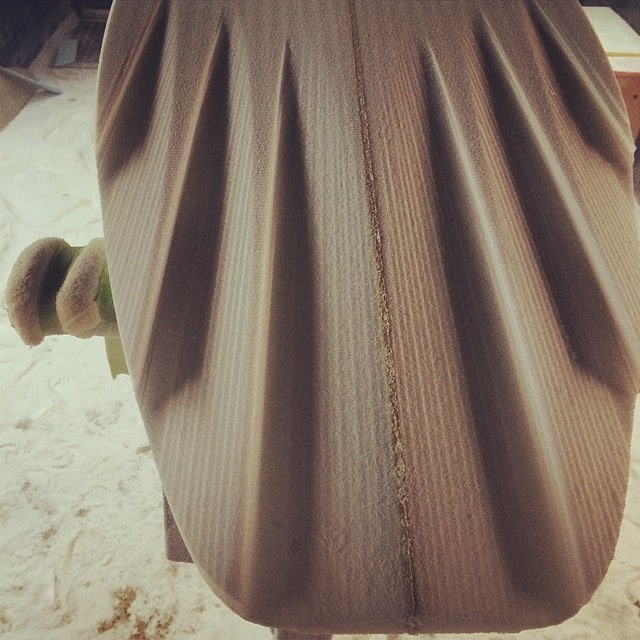 #cutbymachine #aps3000 #pu #craft @burfordblanks #cnc #miki #shape3d