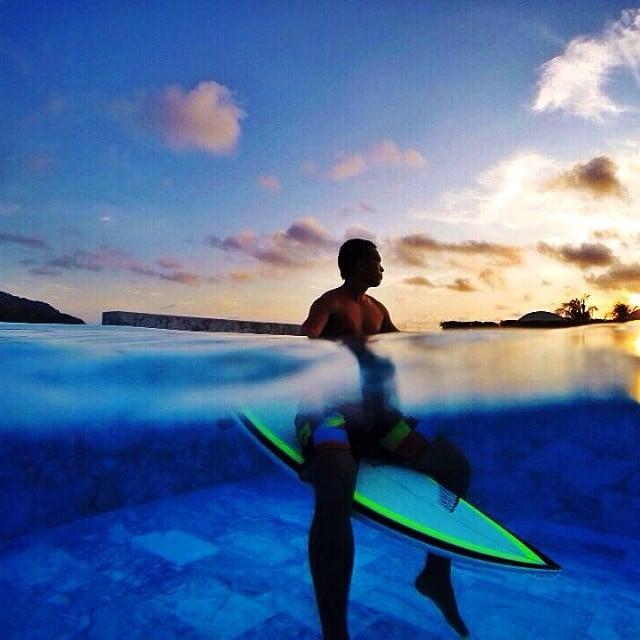 #regram #repost #man #surfboard #photooftheday #awesomeshot #diversesurf
