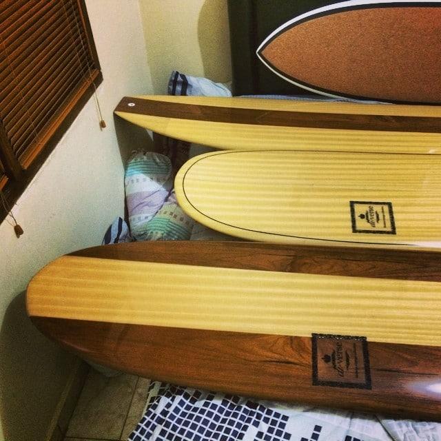 #whatsinyourbedtonight? #boardporn #wood #longboard #classic #modernvintage