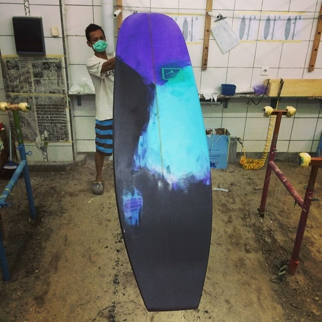 #resinart #art #longboard #customart #noserider