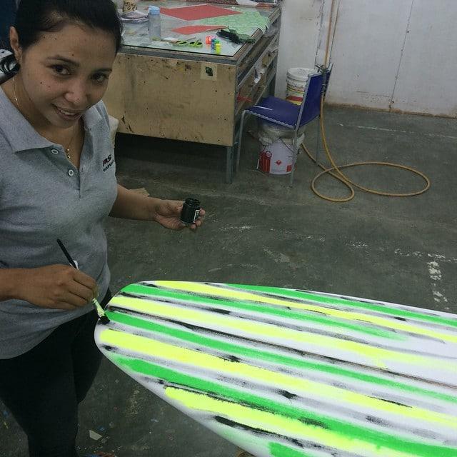 #artschool #foam #painting #PU #balimadebaligood