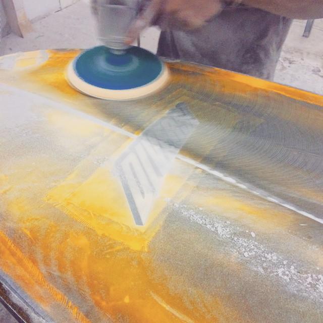 #damsun #sanding ##resincolor #pu #custom