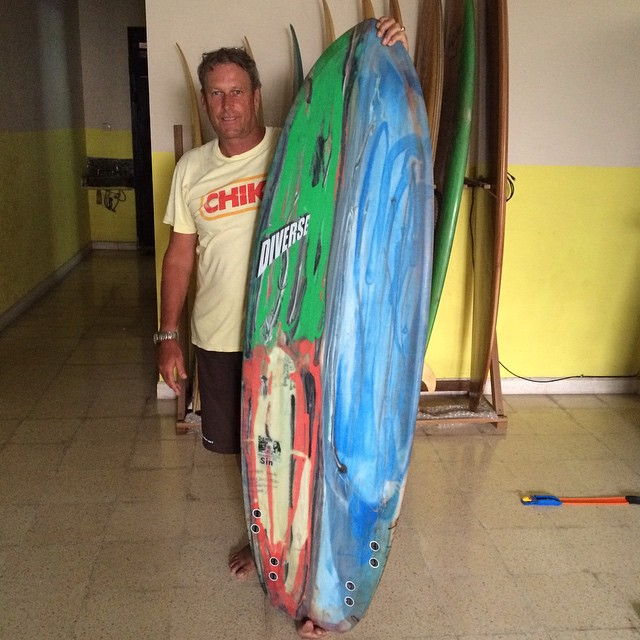 @baliwaves #surfboards #areking #pu #balimadebaligood #resincolor #damnsin