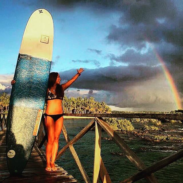 #repost @elaineabonal #lovely #day #sunrise #longboard