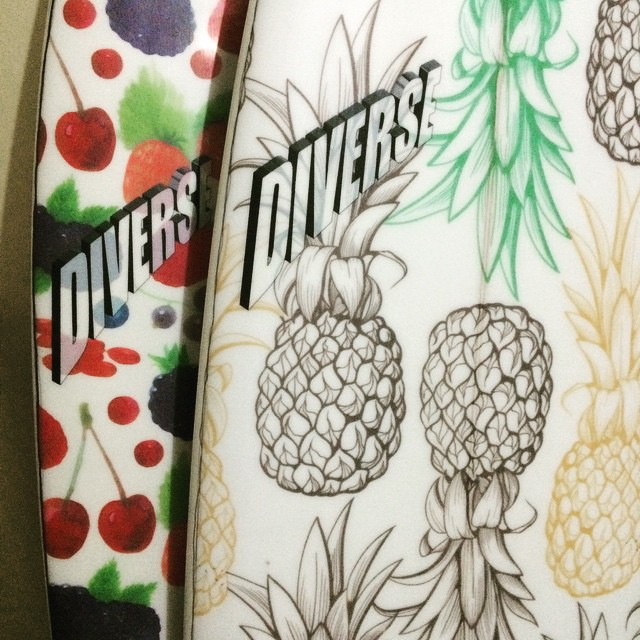 #fruity #tutti #inserts #cliche #pu #fresh #customsurfboards #pineapple #berrys #tasty