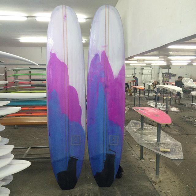 #purple #smurple #pu #longboards #resinart #doublestringer