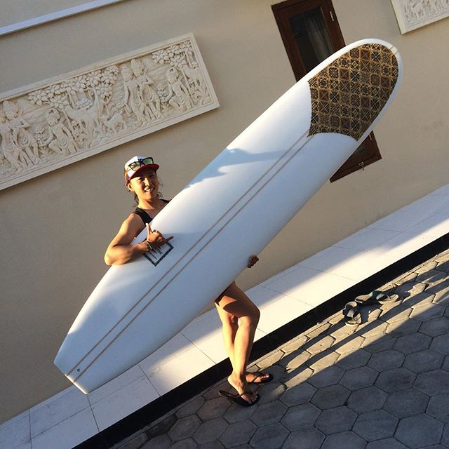 #balimadebaligood #longboard #noserider #happy #customer #batik #origional