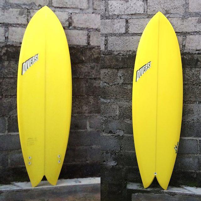 #mellowyellow #twinfin #tw #zippi #surfboard #resincolor #balimadebaligood