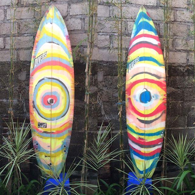#balimadebaligood #psycodelicsaturday #customsurfboards @baliwaves #gardenvariety #resinart