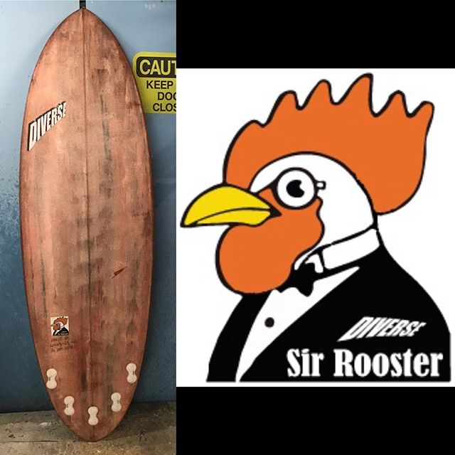 "#newmodel #surfboard #called #sir-rooster #fullvolume #fullshape #veeconcavevee 6'2""x22""x2 ¾""=43L #fcs #fusion #x5 #combo #worksasasingletoo"