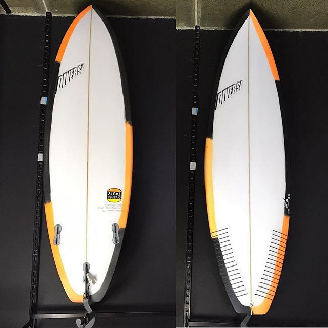 #tasty #5'11 #pu @sideways_surf