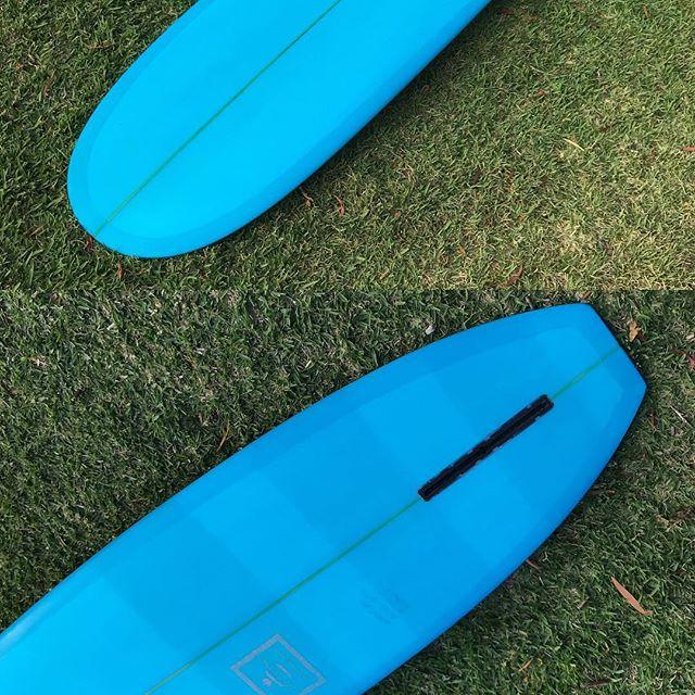 #freeparking #custom #modernvintage  #longboard #blue #singlefin