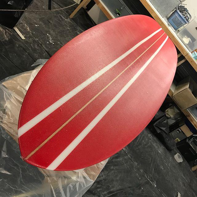 #bigred and #bigblue #customlongboards #goldcoast #southstraddie #tubehunters