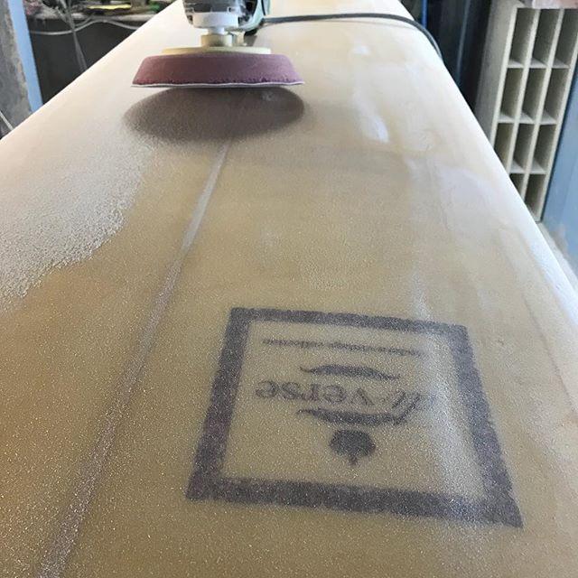 #customlongboards #noserider #modernvintage #goldcoast #sanded