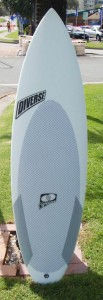Custom epoxy surfboard