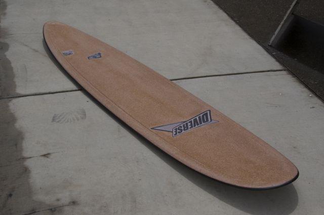 Corktop longboard