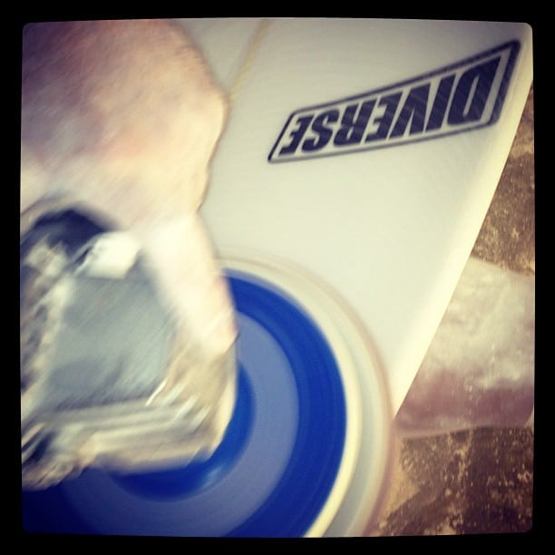 #setting the sand-ard in #dynocore #technology @diversesurf