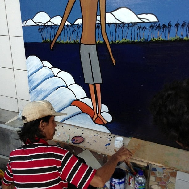 #happeningnow #longboarding #style #artist #balimadebaligood