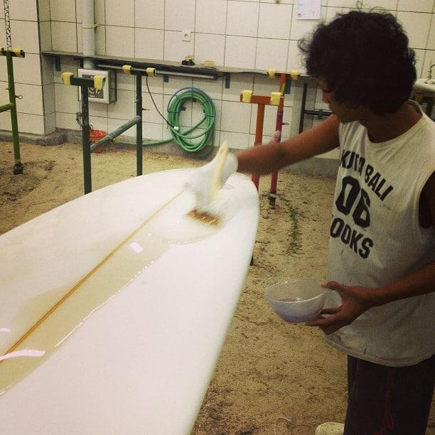#finishcoat #gloss #polish #longboard #balimadebaligood
