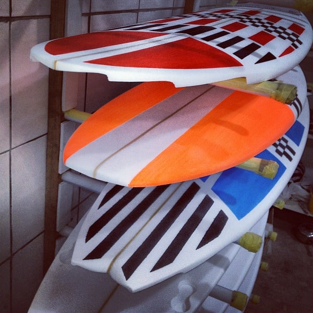 #sixchannel #foamart #checkered #winner #surfboard #sundayarfternoon