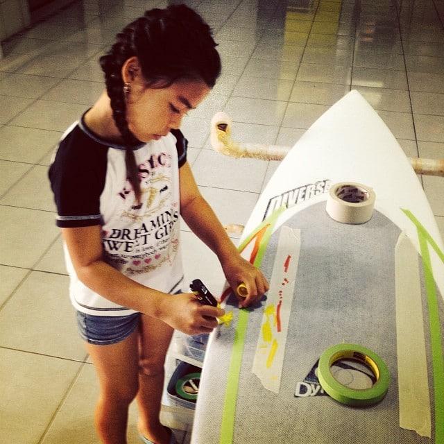 #schoolsoutforsummer #kids #poscart #origional #craft #orderaoneoff #customsurfboard #today