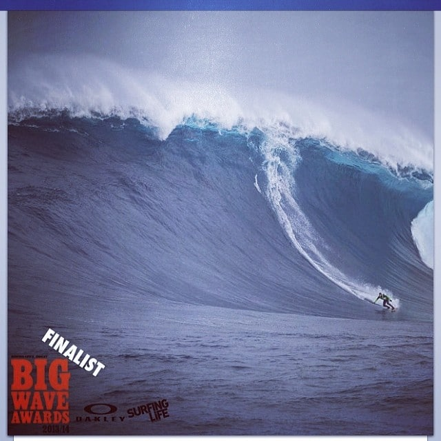 #goodluck to @j_h_sea #tonight at the #bigwave #awards on our specially made #plywood #epoxy #dynocore #towboard
