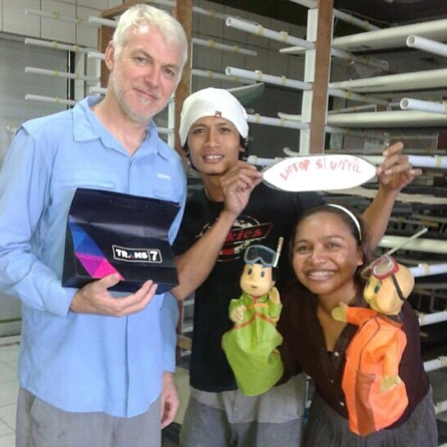 #visitors #trans7 #tvshow #indonesia #travel #science #childrensshow #including #puppets