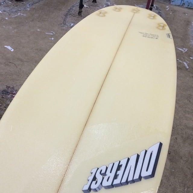 #harvest #yellow #surfboard  #custom #resincolors